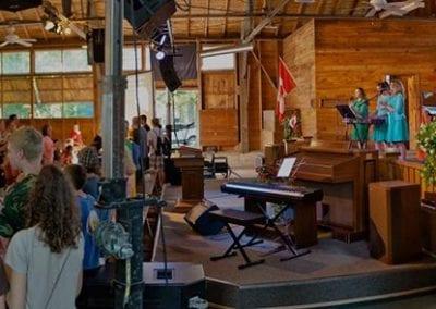 Platform Inside the Tabernacle